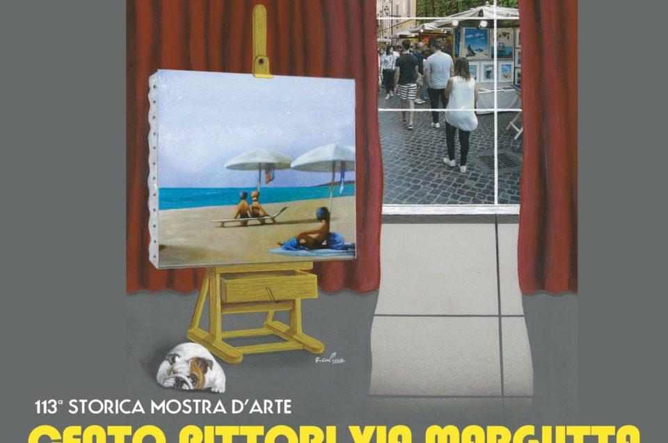 113° storica mostra d'arte Cento Pittori Via Margutta