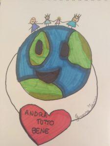 """""""Piccoli Virus"""": Ginevra Ianni - alunna della scuola elementare Torrione - via Alcide De Gasperi, L'Aquila"""