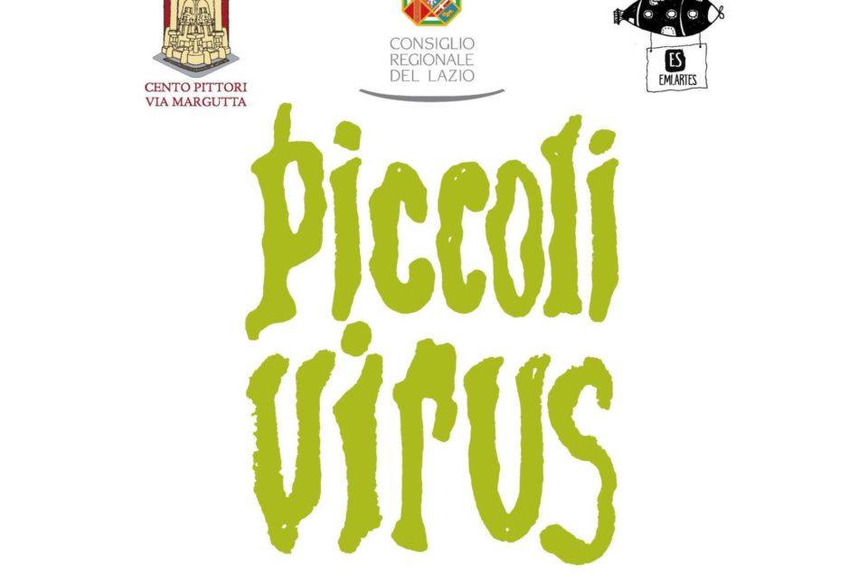 """Con il patrocinio del Consiglio Regionale del Lazio """"DISEGNA IL VIRUS, questo mostriciattolo invisibile"""". Come lo immaginiamo"""