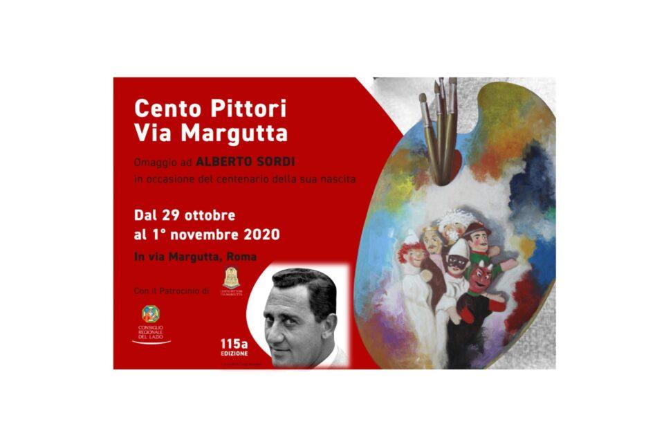 115ª edizione della Storica Mostra dell'Associazione Cento Pittori Via Margutta