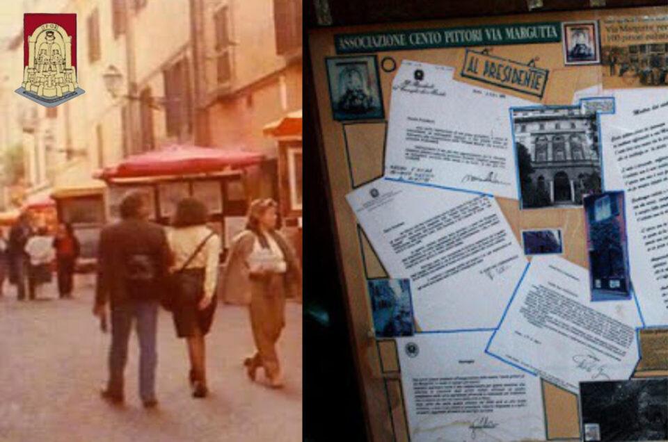 50 anni della NASCITA DELL'ASSOCIAZIONE CENTO PITTORI VIA MARGUTTA