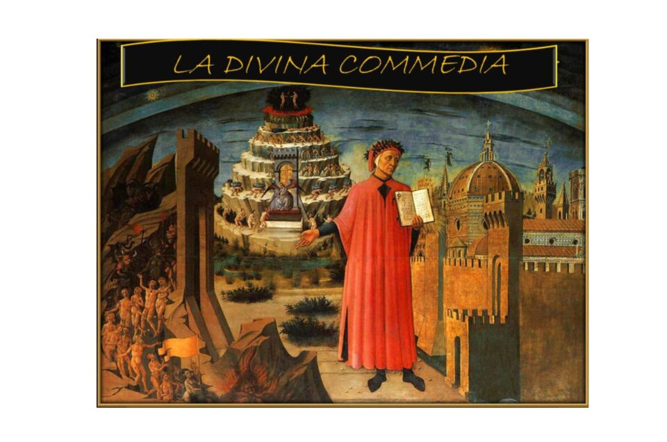 Aggiornamento della traccia dei canti di Dante Alighieri in occasione dei 700 anni dalla sua morte
