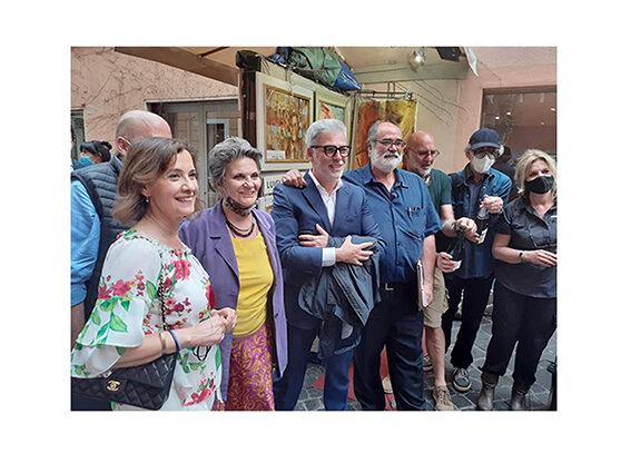 Inaugurazione della 115ª Edizione Mostra d'Arte in Via Margutta